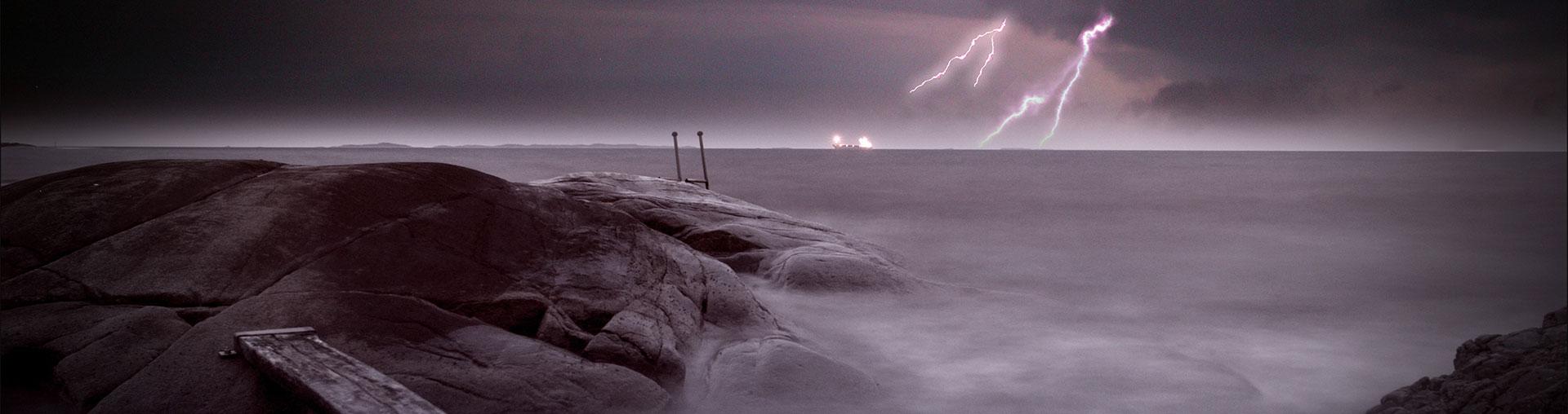 Bentzen Elektro bilde av lyn