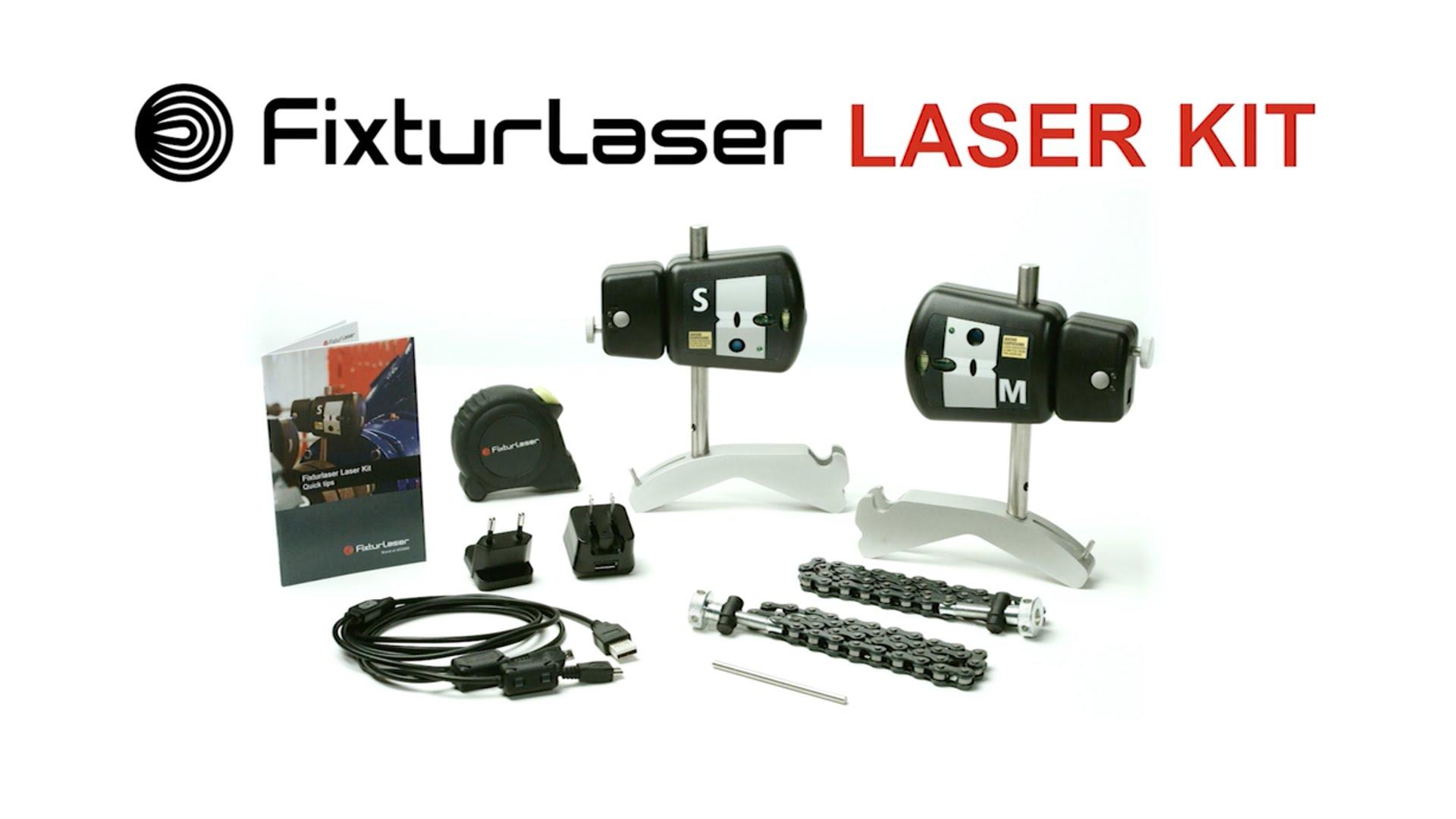 Fixturlaser Laser Kit utleie